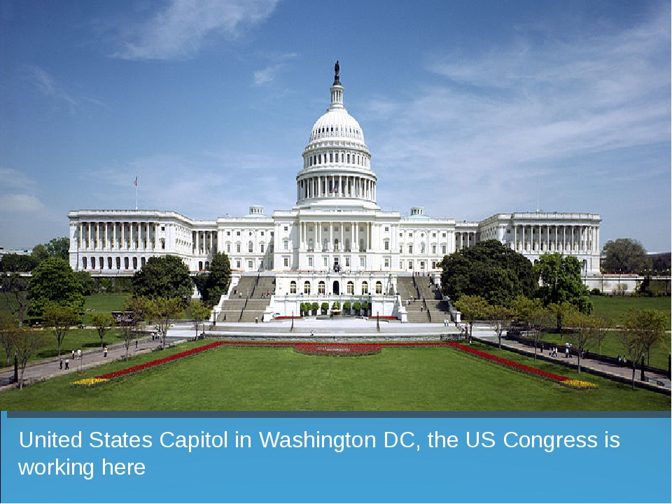 United States Capitol in Washington DC, the US Congress is working here