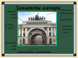 Архитектурные ансамбли К.Росси Михайловский дворец (1819-1825) Александрински