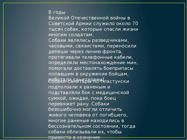В годыВеликой Отечественной войнывСоветской Армиислужило около 70 тысяч с...