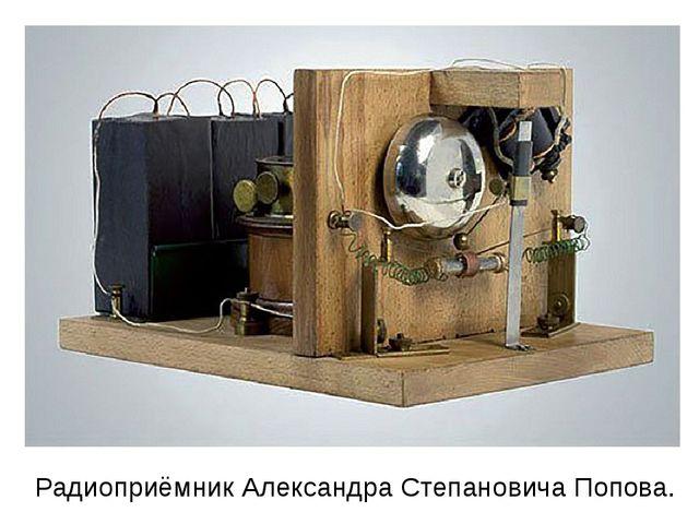 Радиоприёмник Александра Степановича Попова.