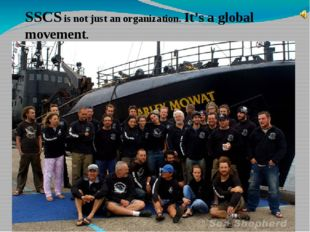 SSCS is not just an organization. It's a global movement.