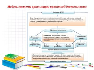 Модель системы организации проектной деятельности