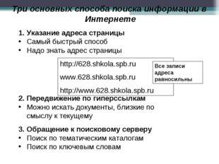 http://628.shkola.spb.ru www.628.shkola.spb.ru http://www.628.shkola.spb.ru Т