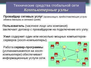 Провайдер сетевых услуг (организация, предоставляющая услуги обмена данными в