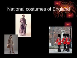 National costumes of England