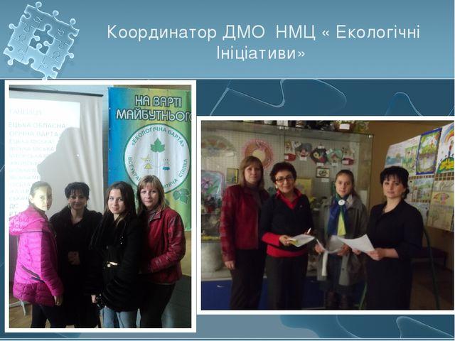 Координатор ДМО НМЦ « Екологічні Ініціативи»