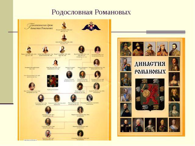 Родословная Романовых
