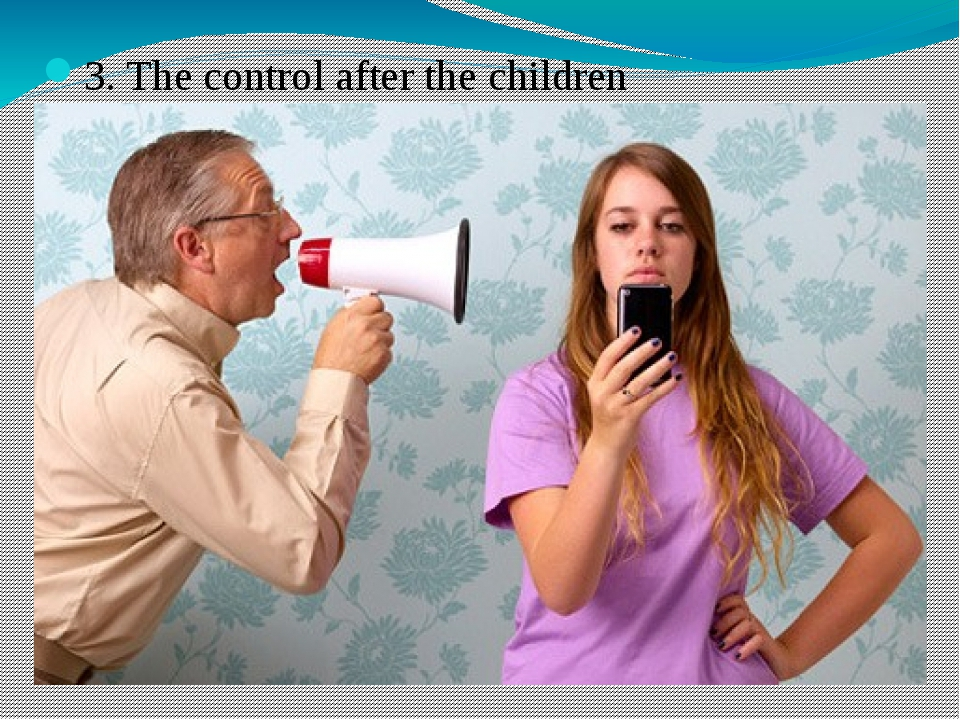3. The control after the children