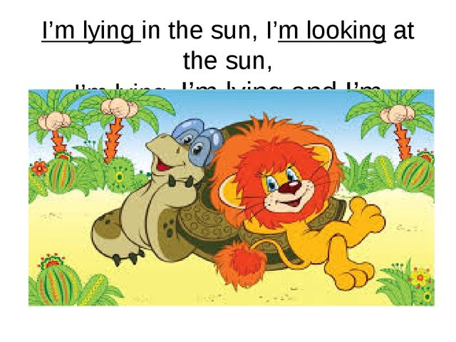 I'm lying in the sun, I'm looking at the sun, I'm lying, I'm lying and I'm lo...