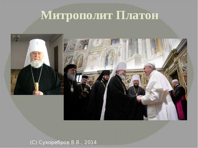 Митрополит Платон (С) Сухоребров В.В., 2014