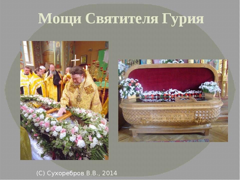 Мощи Святителя Гурия (С) Сухоребров В.В., 2014