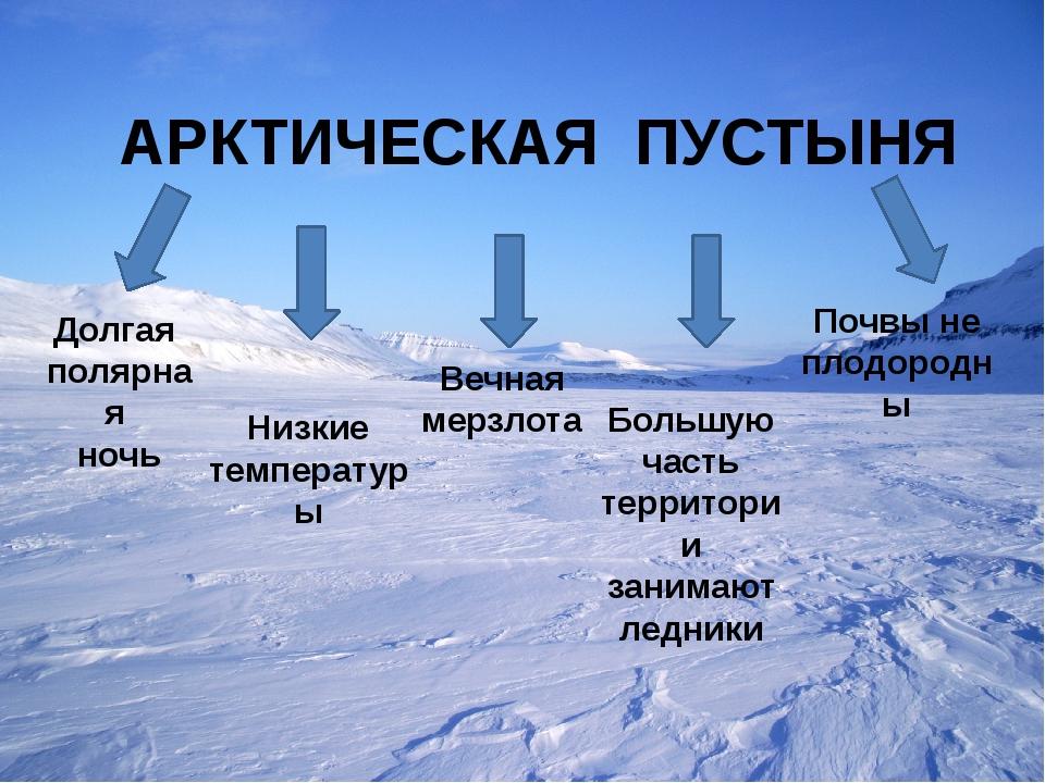 арктические пустыни картинки с описанием кастрюли можно