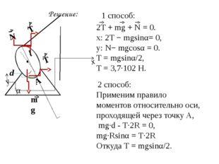 Задача №4. Какой минимальной горизонтальной силой можно опрокинуть через ребр