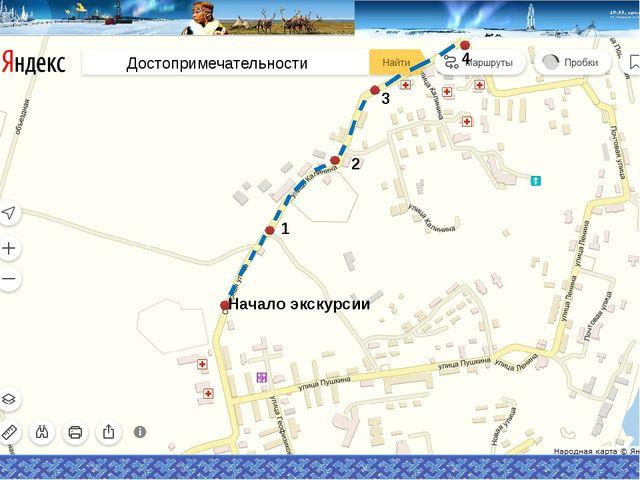 Начало экскурсии 1 Районный краеведческий музей 2 3 4 5 6 7