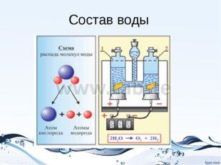 Состав воды