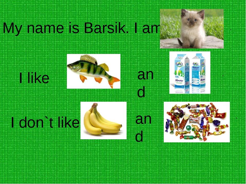 My name is Rex . I am a . I like and . I don`t like and