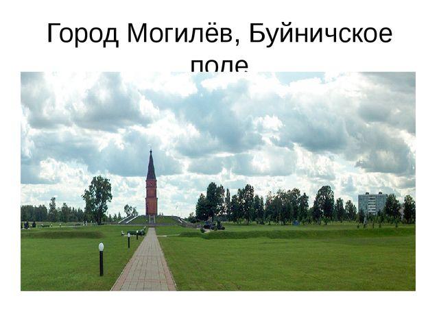 Город Могилёв, Буйничское поле