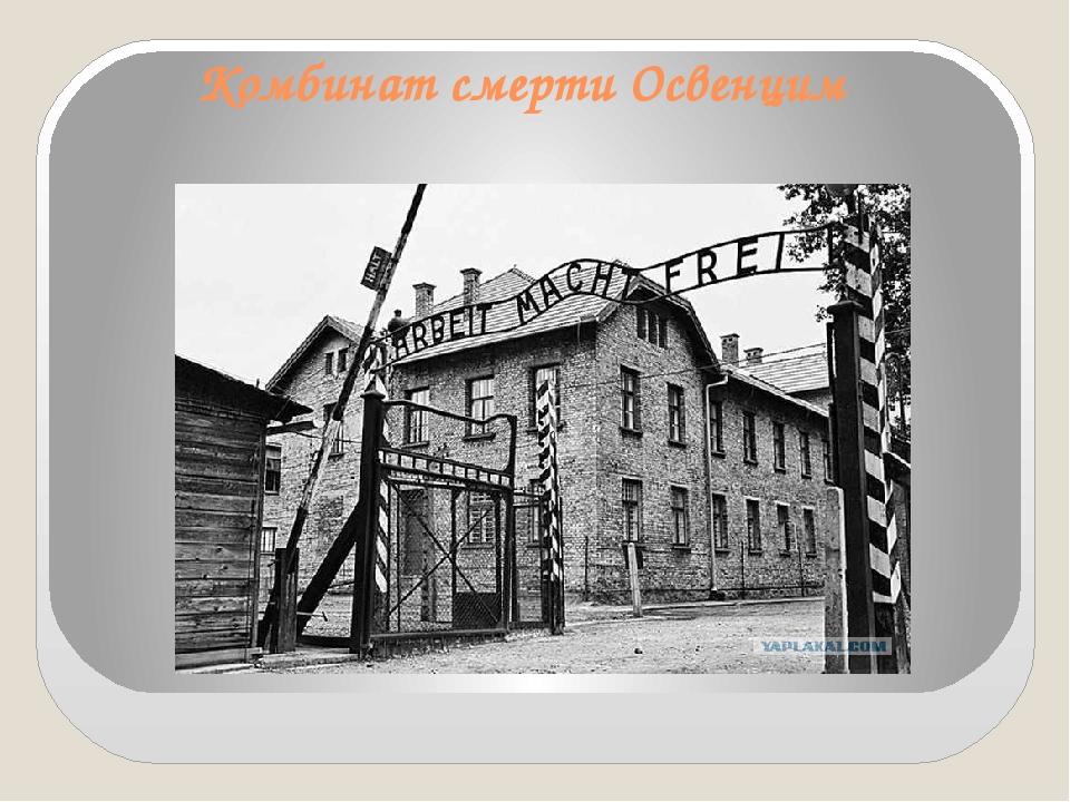 Комбинат смерти Освенцим