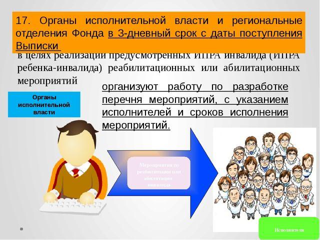 в целях реализации предусмотренных ИПРА инвалида (ИПРА ребенка-инвалида) реа...