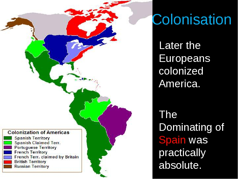 an analysis of the colonization of america Summary of the colonial period thousands came to escape the bondage of poverty in the old world and to find free homes in america thousands.