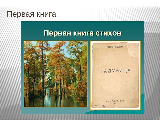 Первая книга