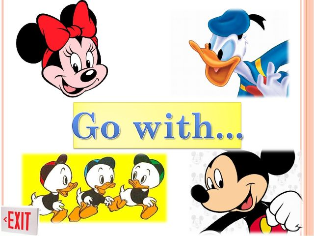 Go with...