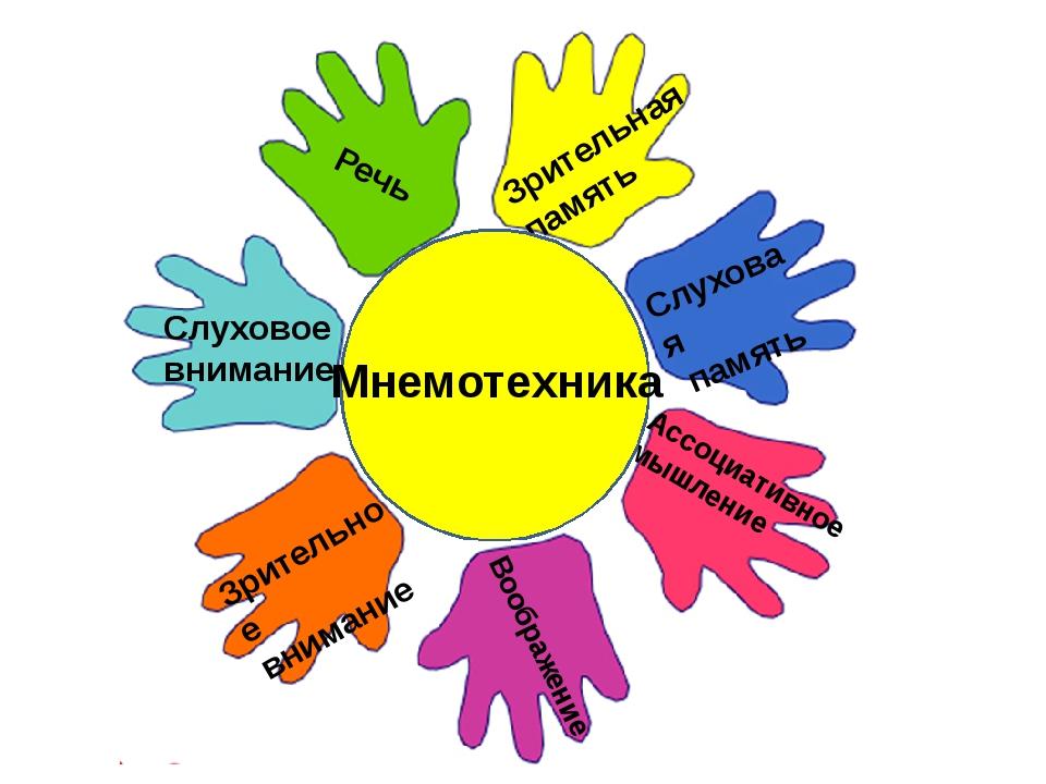 Зрительная память Слуховая память Ассоциативное мышление Воображение Зритель...
