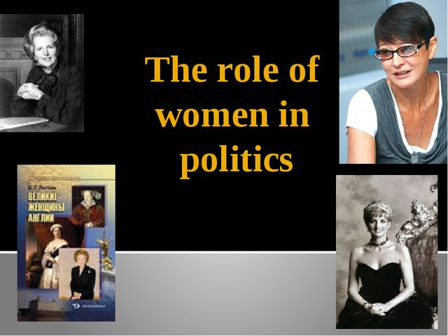 The role of women in politics