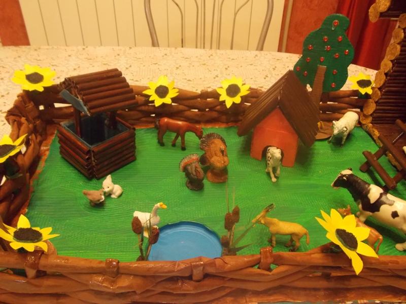 Домашние животные в детском саду своими руками 25