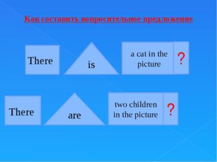 There There is are a cat in the picture two children in the picture ? ? Как с