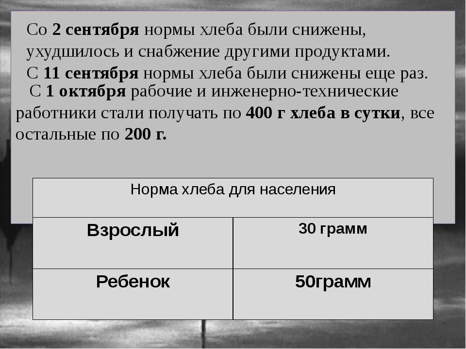 С 1 октября рабочие и инженерно-технические работники стали получать по 400...