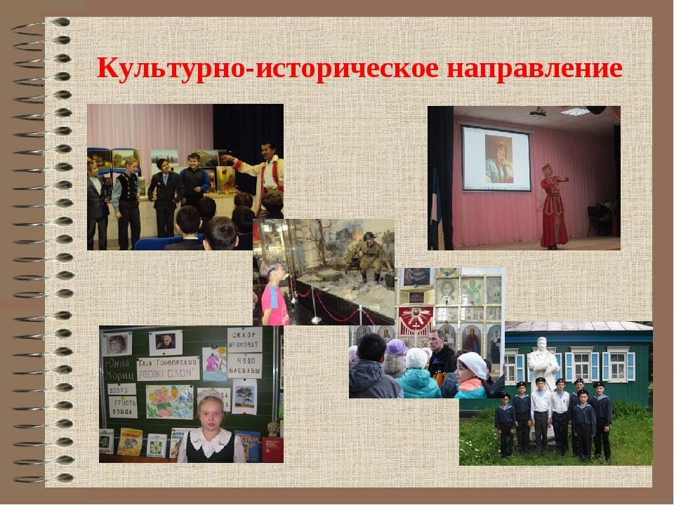 Культурно-историческое направление
