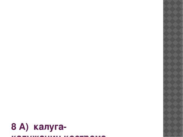 8 А) калуга-калужанин,кострома-костромич 8 б) токио-токиец,омск-омич 8 в) ри...