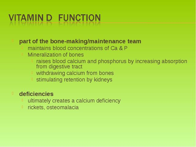part of the bone-making/maintenance team maintains blood concentrations of C...