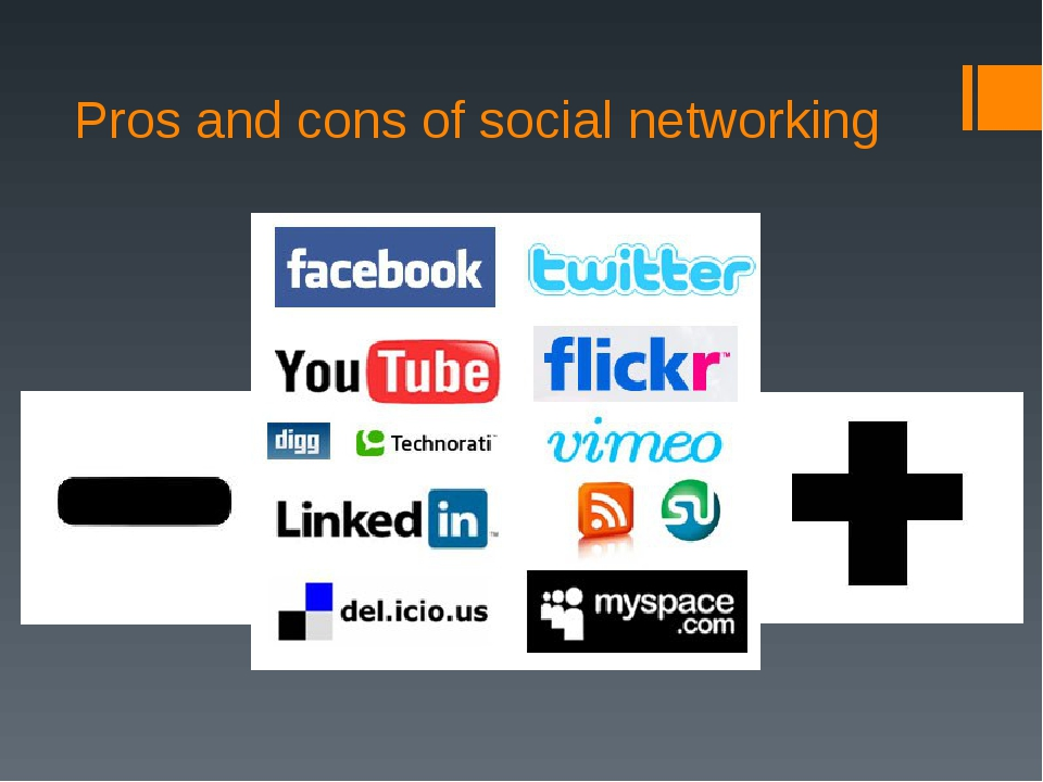 the pros and cons of social networking sites Post this, comment on that social media are a part of the daily routines of many adults and children and the identifiable pros and cons of social networking among kids are beginning to emerge, according to a presentation at the american psychological association meeting.
