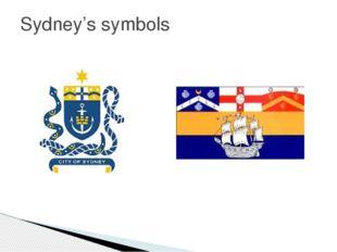 Sydney's symbols