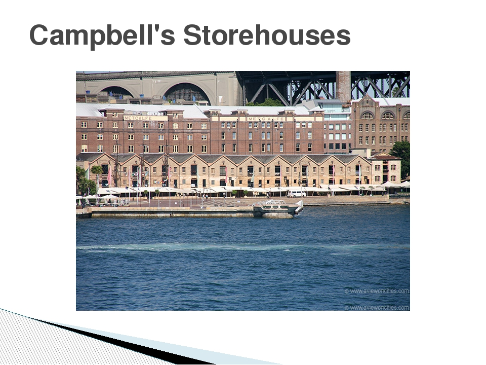 Campbell's Storehouses
