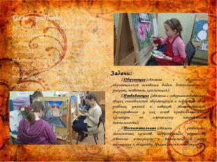 Цель работы: Создание на занятиях дополнительного образования условий для соз