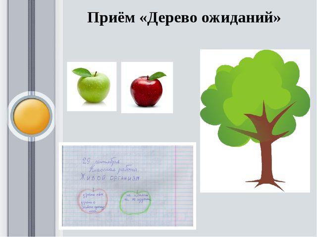 Приём «Дерево ожиданий»