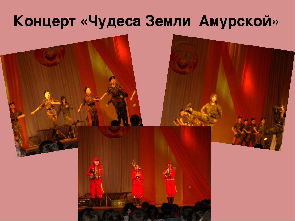 Концерт «Чудеса Земли Амурской»