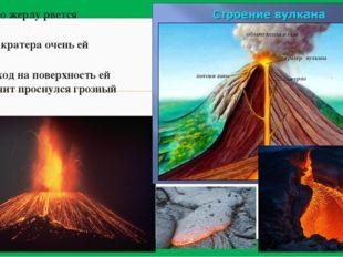 «Магма по жерлу рвется наружу Выход из кратера очень ей нужен Если проход на