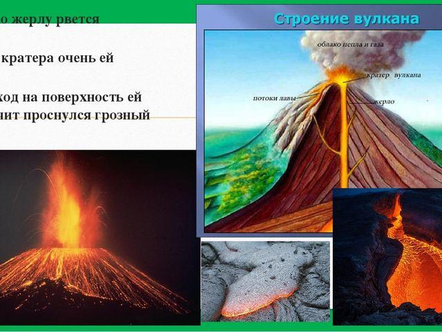 «Магма по жерлу рвется наружу Выход из кратера очень ей нужен Если проход на...