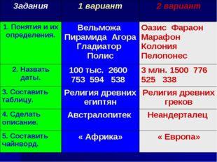3адания1 вариант2 вариант 1. Понятия и их определения.Вельможа Пирамида Аг