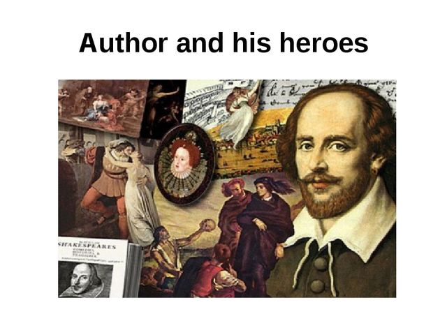 Author and his heroes