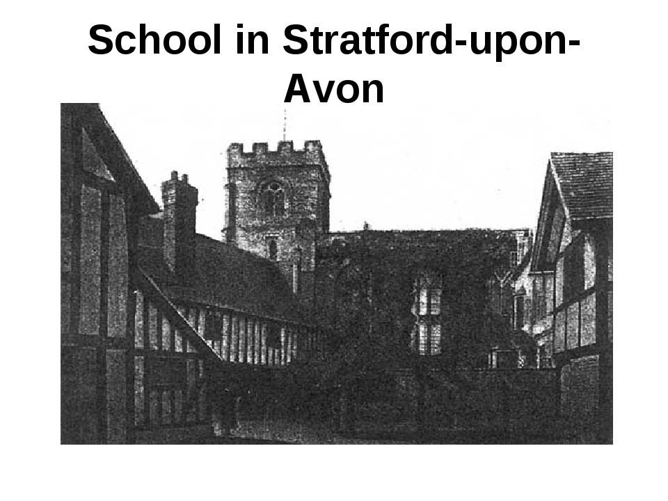 School in Stratford-upon-Avon