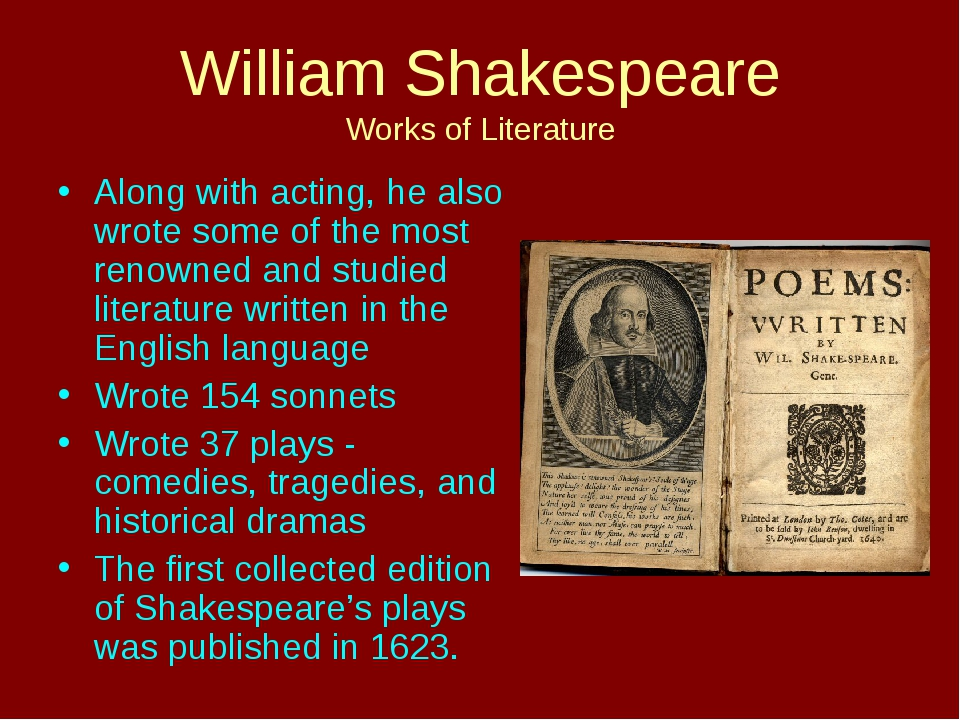 the greatest effect of william shakespeare on the future of modern literature Shakespeare, the prince of poets or the king of dramatist, is recognized all the world over as the greatest poet and dramatist paying a great tribute to him, ben jonson writes he was not of an age, but for all time for more than three hundred years his reputation has remained constant and steadfast.