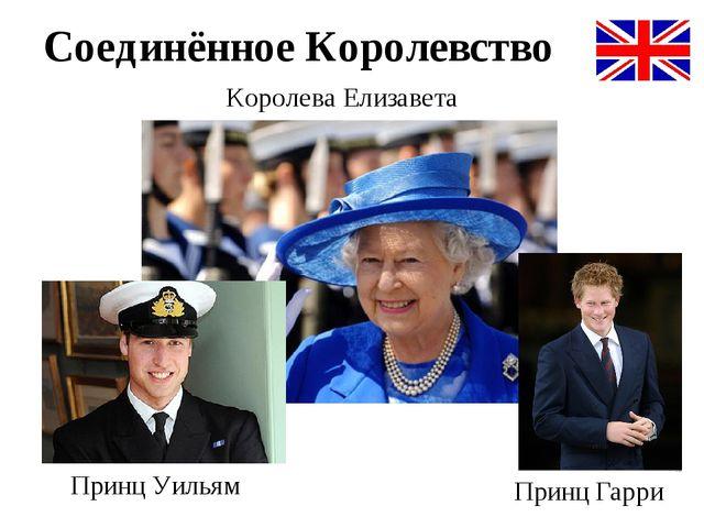 Королева Елизавета Принц Уильям Принц Гарри Соединённое Королевство