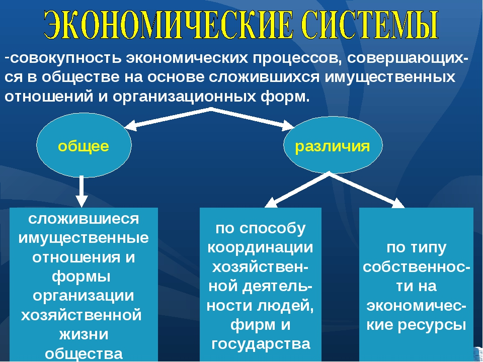общее различия сложившиеся имущественные отношения и формы организации хозяйс...