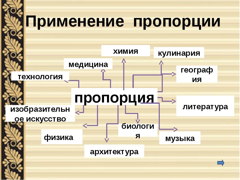 ГЕОГРАФИЯ В географии также применяют пропорцию – масштаб. Масштабом называют...