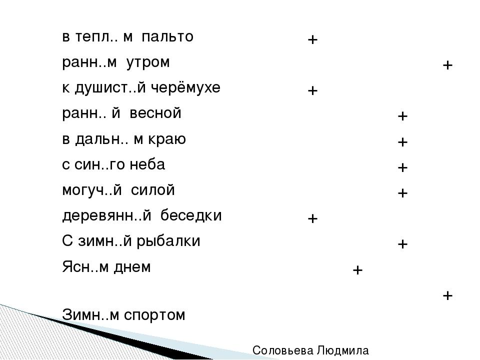 Соловьева Людмила Александровна  о ы е и втепл.. м пальто +    ранн..м ут...